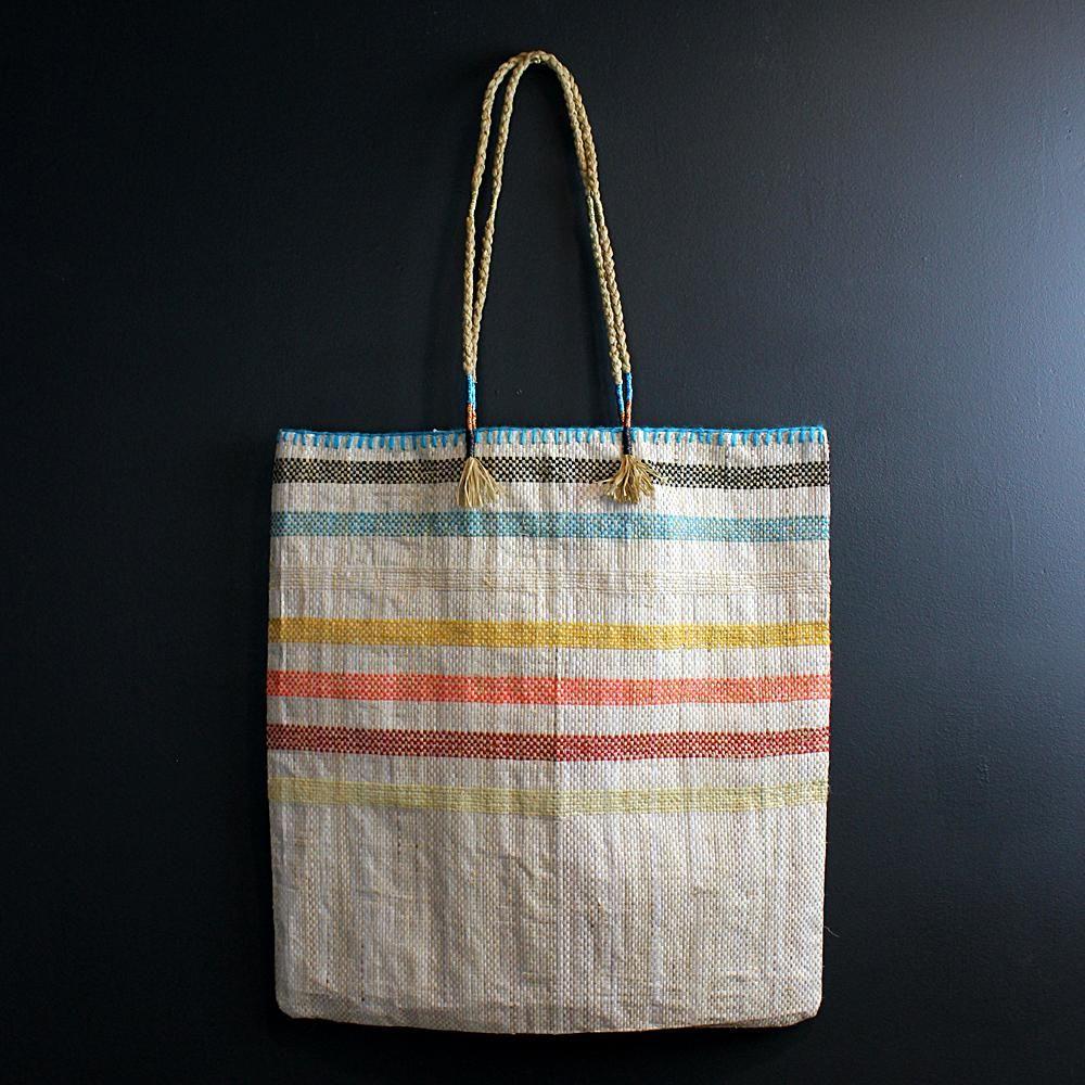 68ff9f285 Multi Colored Handmade Recycled Plastic Bag | T | Bags, Diy bags ...