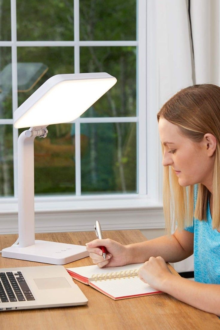 Theralite Aura 10 000 Lux Mood Energy Enhancing Light Therapy Lamp In 2020 Light Therapy Lamps Light Therapy Therapy Lamp