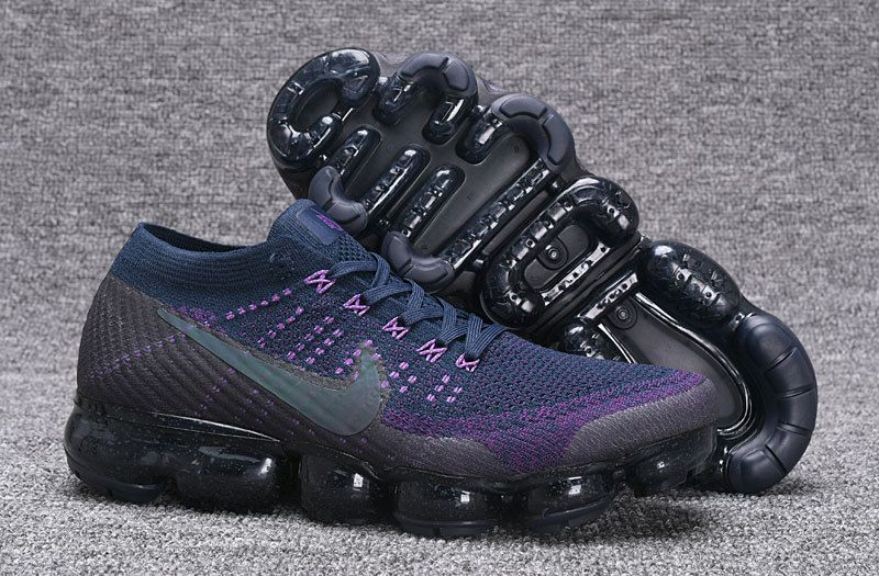 8c5bfedf7d3 Adaptable Nike VaporMax Dark Blue Purple Men s Running Shoes Basketball  shoes 849558 208