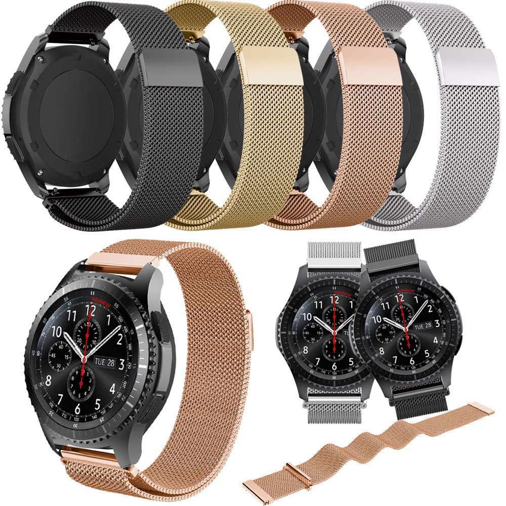 Stainless Steel Milanese Loop Band Strap For Samsung Gear
