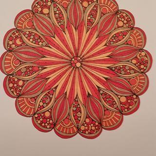 Creative Coloring Mandalas -Valentina Harper ; colored by me ...