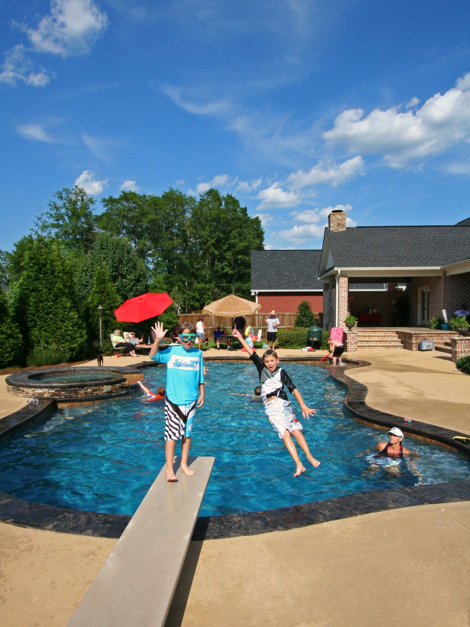 Pin By Mid State Pools On Custom Swimming Concrete