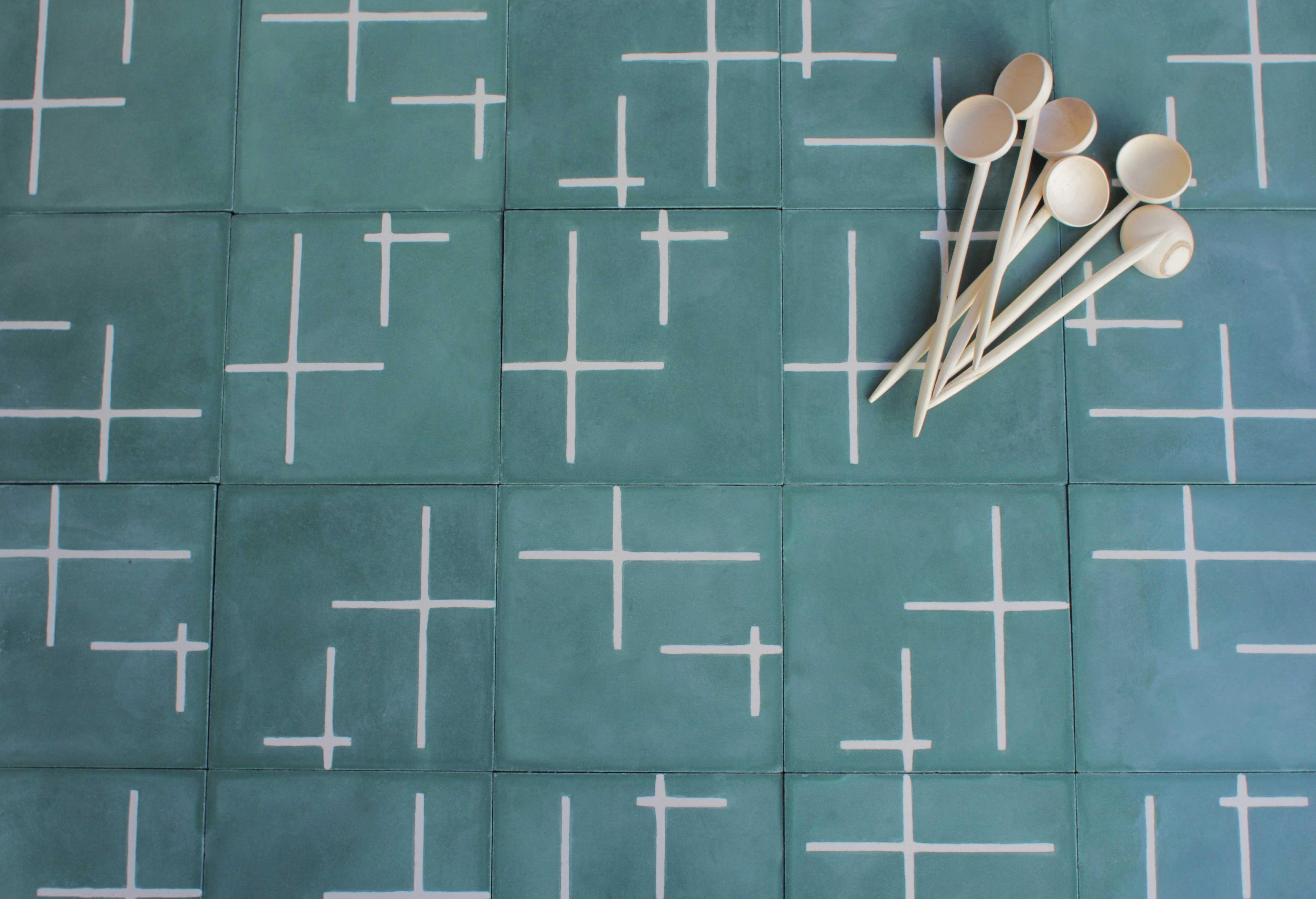 FLOOR TILE Option A - popham design :: cement tiles :: handmade in ...