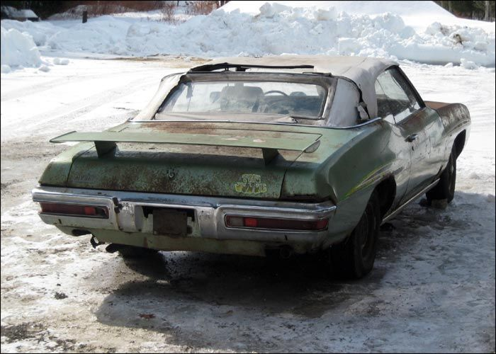 Classic Cars Rotting Gto Judge Rotting Away Canadian Poncho