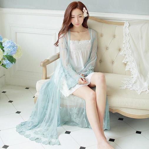 Sexy Long Nightwear Lace Vintage Princess Dress Medieval Nightgown European-style  Palace Robe Beautiful Vestidos D41  Affiliate 5e29c1d21