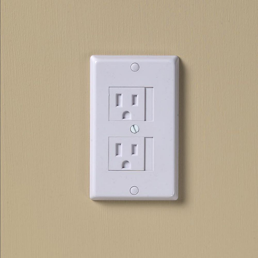 White Electrical Outlet Covers Kidco 3Pkuniversal Electrical Outlet Cover White  Electrical