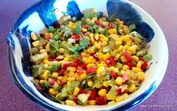 Galilee Green Corn Salad