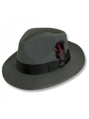 5f99130b4e9 Scala Clarkton - Wool Fedora Hat