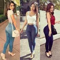 Pantalon Talle Alto Mujer Jeans Moda Ropa Ropa Juvenil De Moda Ropa Juvenil Femenina Moda