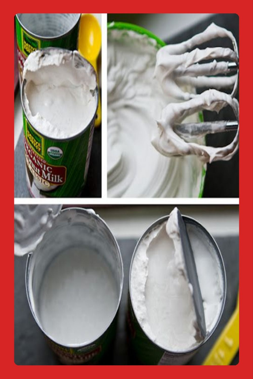 How To Make Coconut Whip How To In 2020 Coconut Whipped Cream Whipped Coconut Milk Vegan Whipped Cream