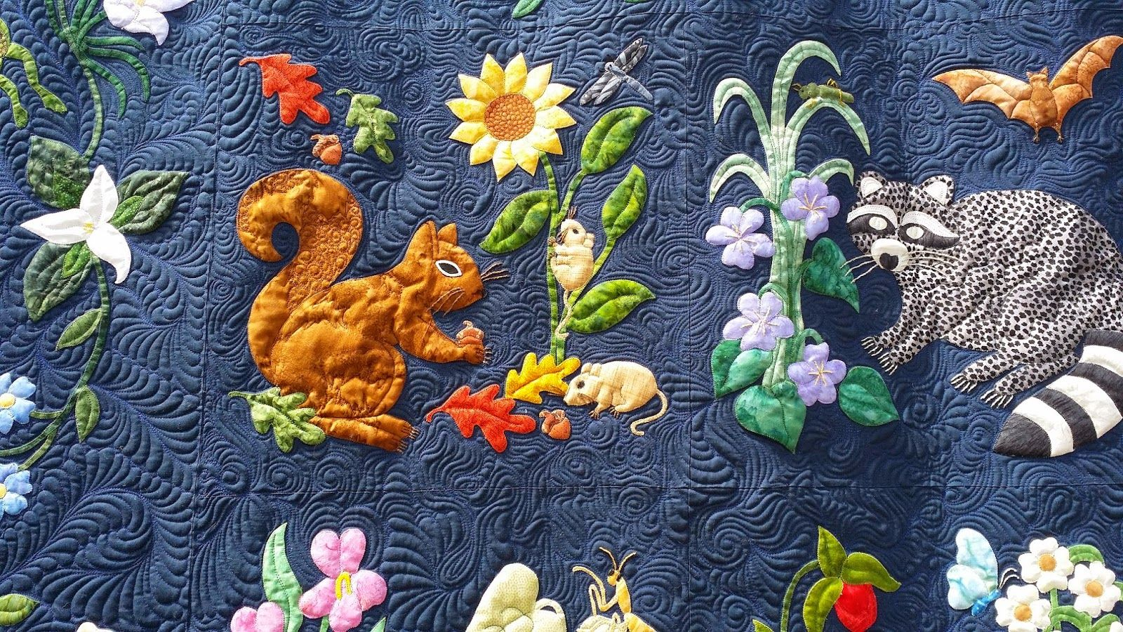 Confessions of a serial quilter woodland creatures free motion