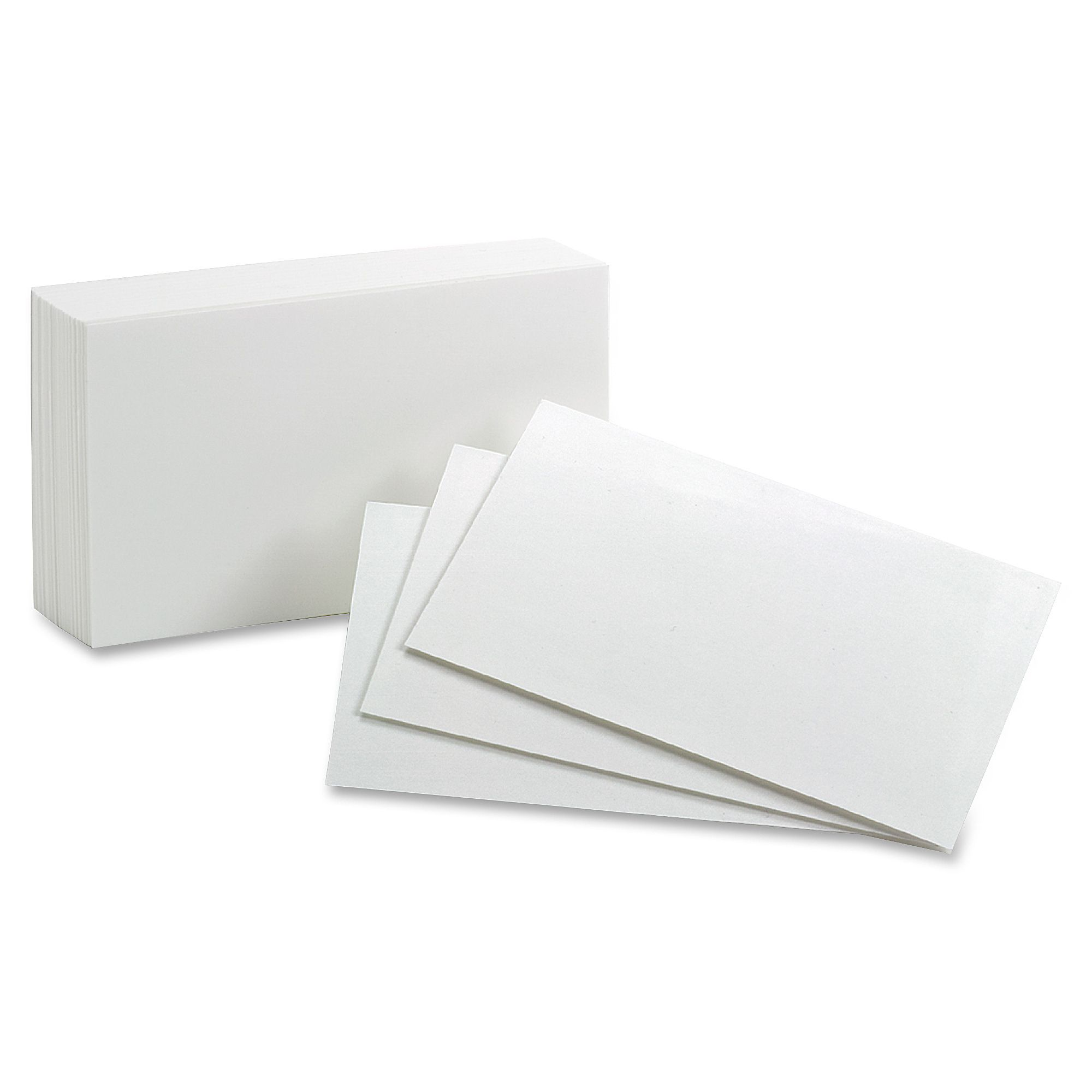 Oxford Printable Index Card 5 X 8 85 Lb Basis Weight 500 Box White For 5 By 8 Index Card Template In 2020 Card Template Professional Templates Index Cards