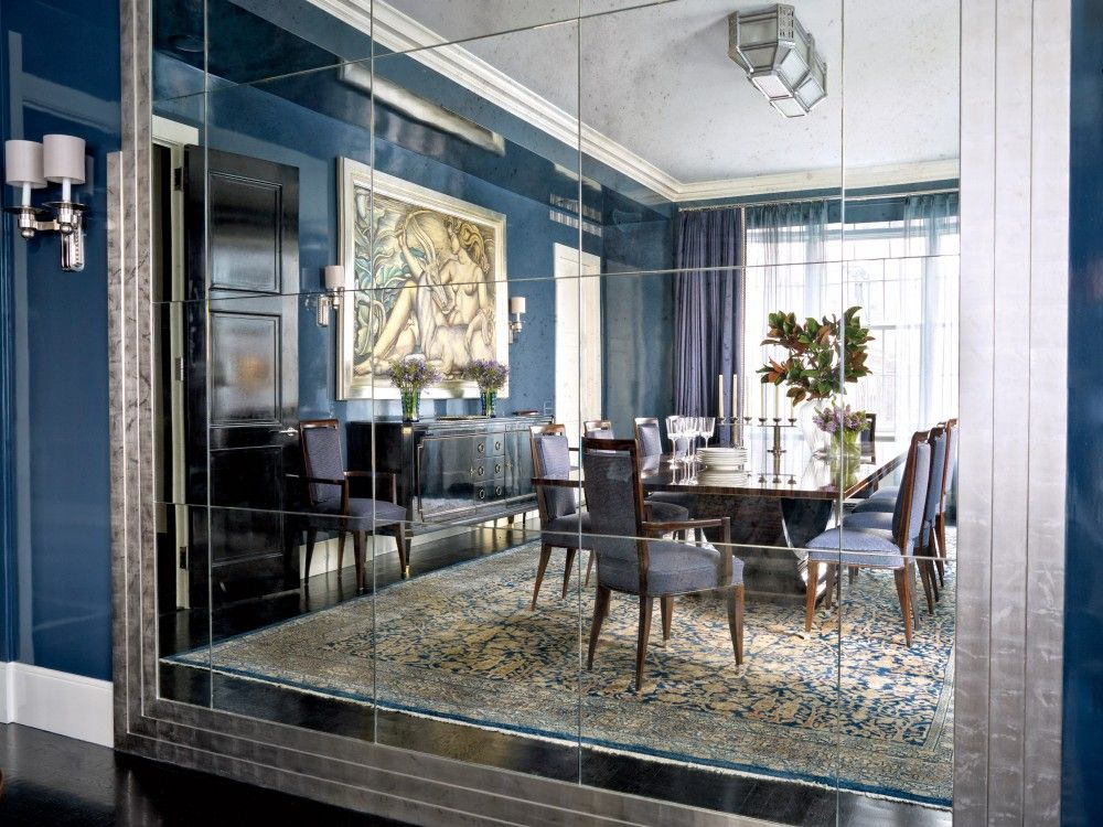 Modern Dining Room By Victoria Hagan Interiors And Peter Pennoyer Architects In New York NY