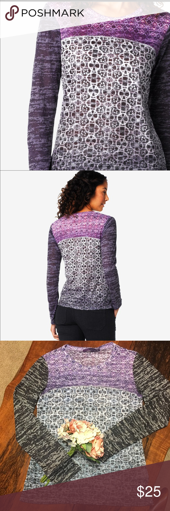 💜PrAna LOTTIE TOP💜 In GOOD CONDITION NO STAINS NO HOLES! Prana Tops Tees - Long Sleeve