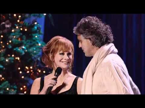 Excellent Andrea Bocelli Blue Christmas With Reba Mcentire Youtube Short Hairstyles Gunalazisus