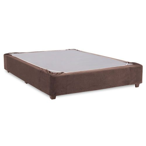 Bella Chocolate Queen Boxspring Kit and Cover