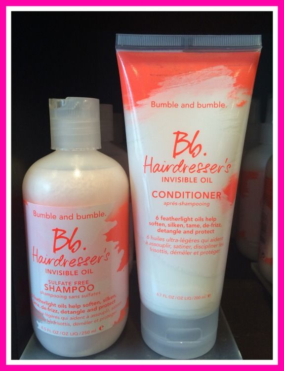 Bumble & Bumble Invisible Oil Shampoo and Conditioner