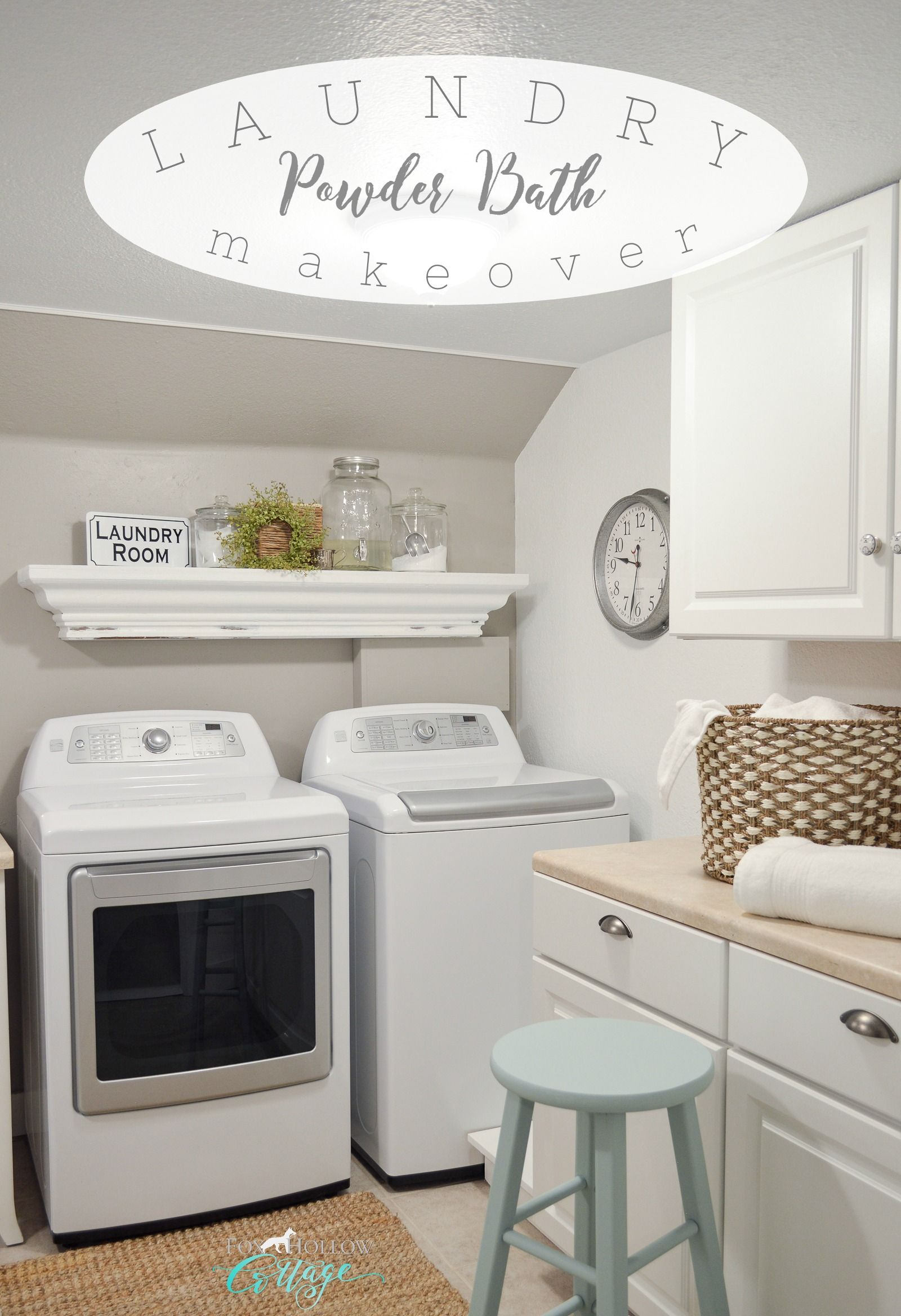 small space combination laundry room powder bathroom on extraordinary small laundry room design and decorating ideas modest laundry space id=37205