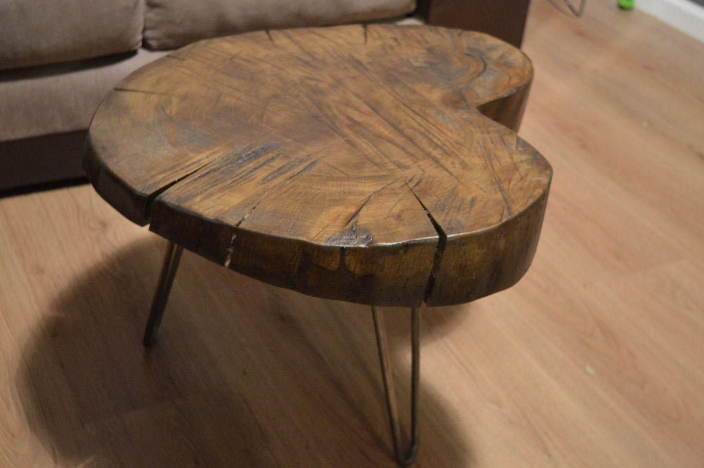 Oak Log Coffee Table Coffee Tables Pinterest Logs Coffee and