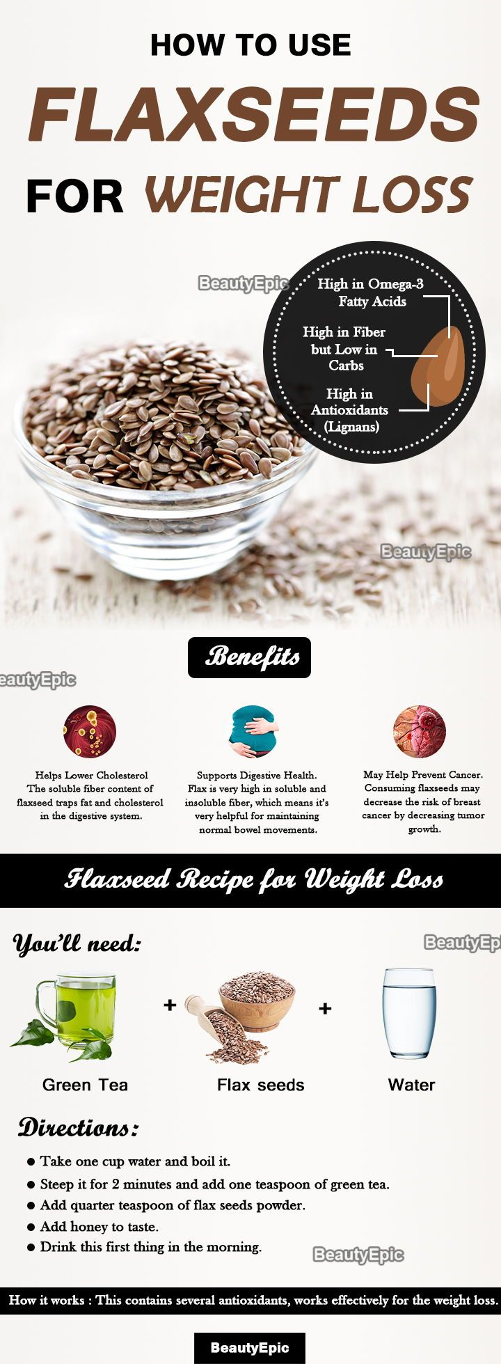 How To Use Flax Seeds For Weight Loss Health Fitness