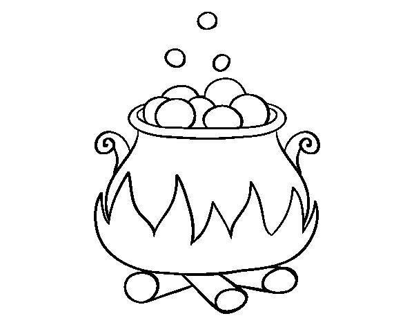 Dibujo de p cima embrujada para colorear dibujos de - Dibujos de halloween ...