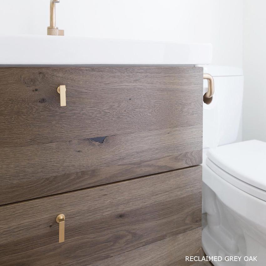 Reclaimed Grey Oak 295 For 40 Vanity Fronts Ikea Godmorgon Bathroom Vanity Replacement Cabinet Doors Bathroom Vanity Ikea Godmorgon Ikea Bathroom
