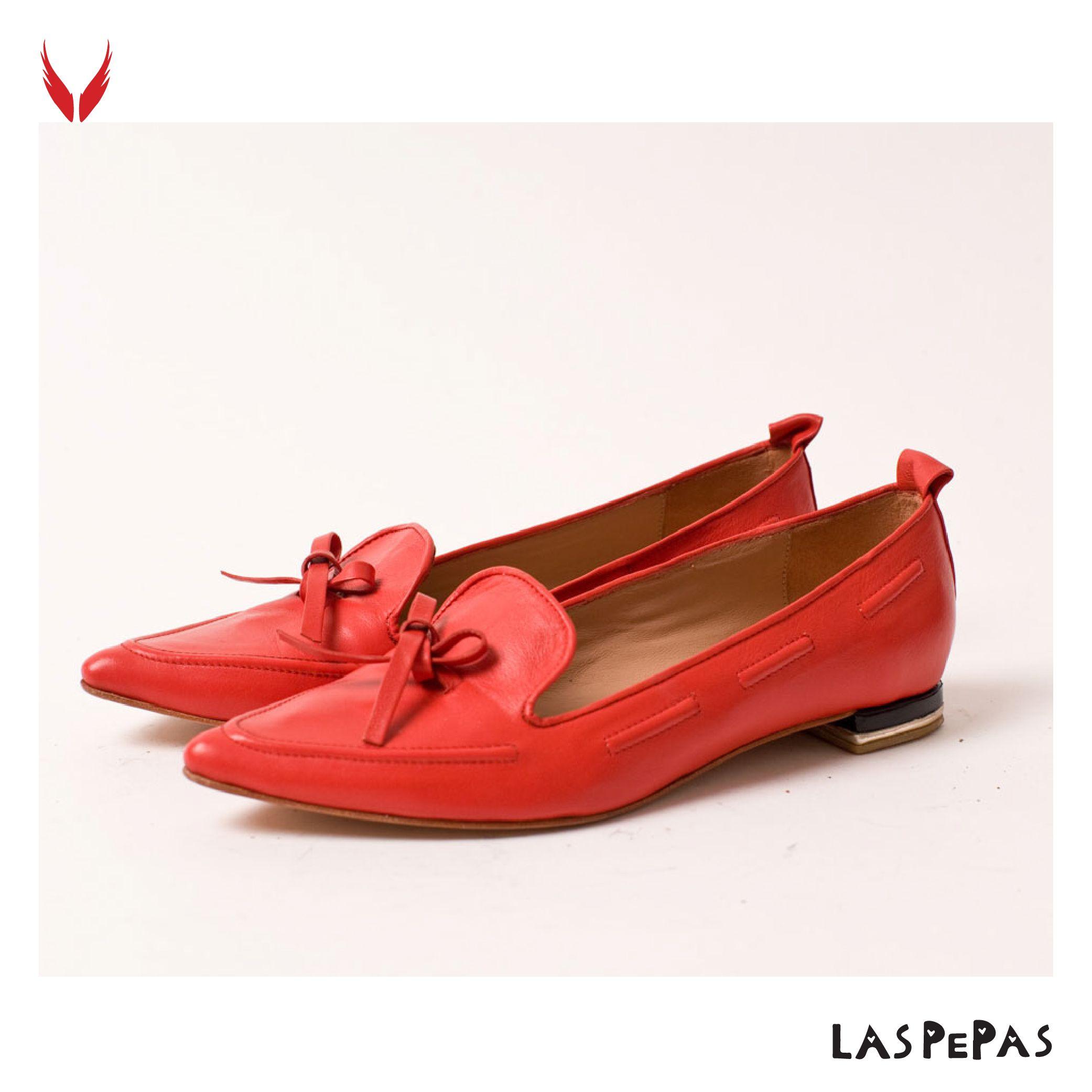 Zapatos rojos de Las Pepas