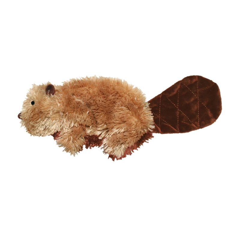 Kong Beaver Plush Dog Toy Large In 2020 Interactive Dog Toys