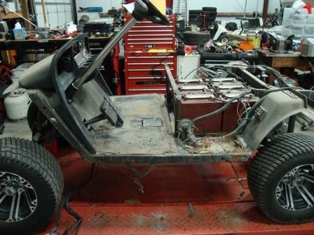 Body Was Removed Custom Golf Carts