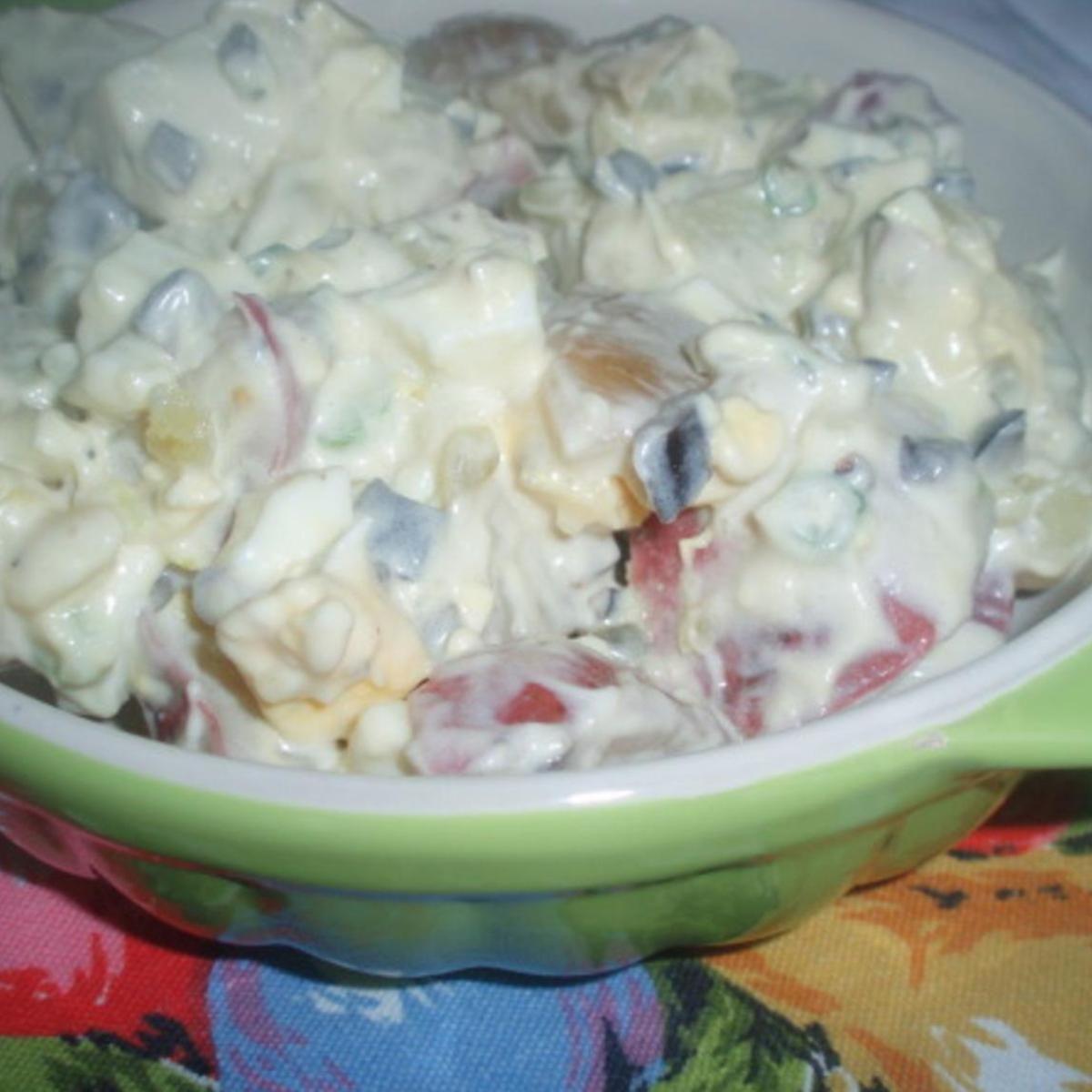 Esther S My Mom Potato Salad Recipe Potato Salad Potatoes Salad Side Dishes
