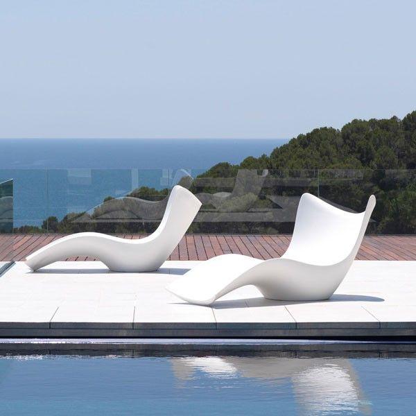 Chaise Longue Surf Jardinchic Mobilier Exterieur Salon En Plein Air Decoration Maison Moderne