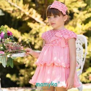 20ac1d4fd Vestido niña vuelo, colección Dalia. Primavera 2019 | Dolce Petit ...