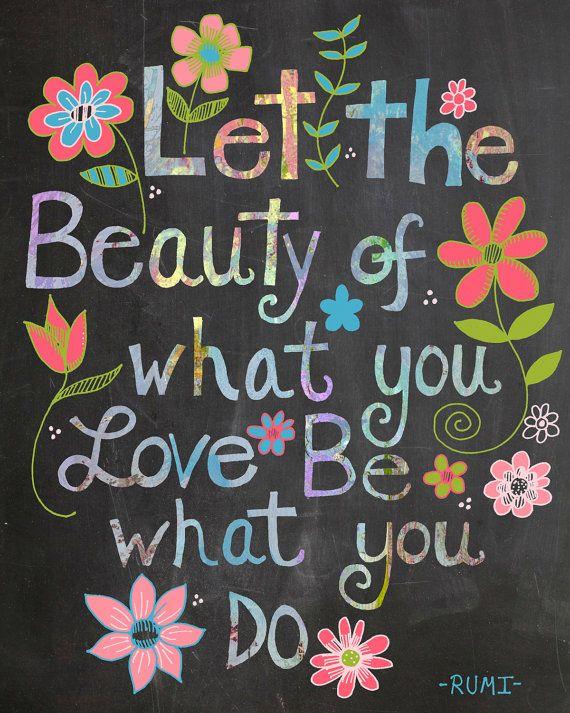 Rumi Citaten Nederlands : Rumi quote chalkboard print wijsheid gedichten