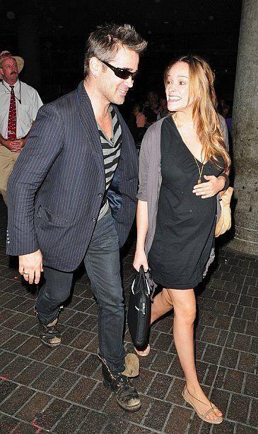Colin Farrell pics | Colin Farrell and girlfriend, Ondine ...