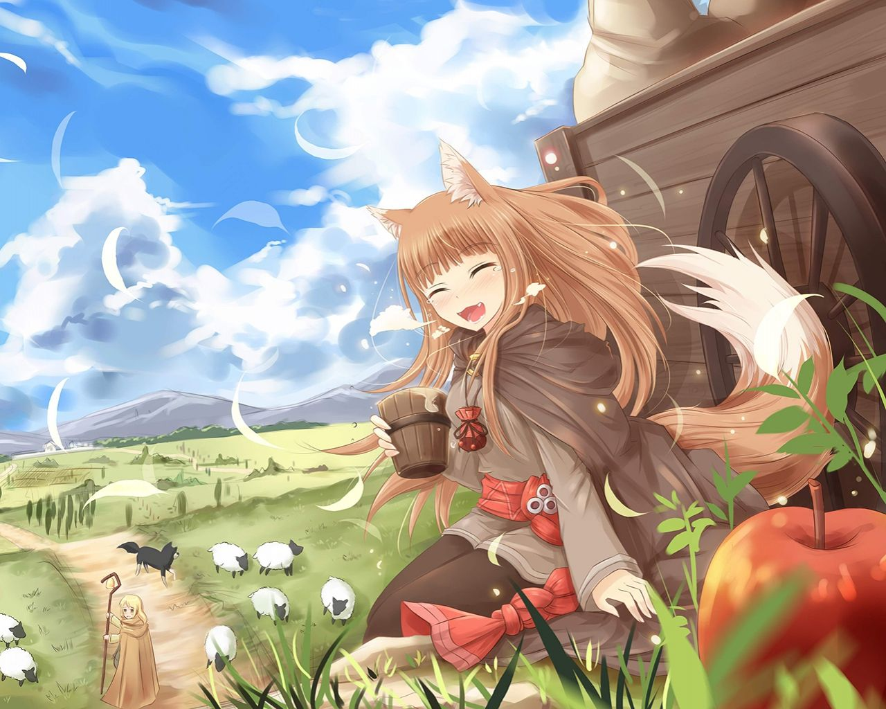 Spice and Wolf Holo the wise wolf e colors are just