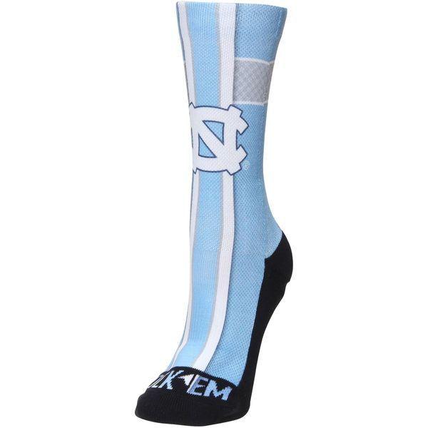 North Carolina Tar Heels Women's Jersey Crew Socks