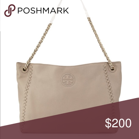 6ef9db17aa3 Tory Burch Marion Chain-Strap Slouchy Tote Bag Tory Burch Marion Chain-Strap  Slouchy