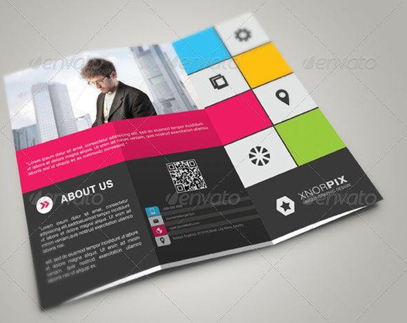 Modern Style Brochure Brochure Pinterest Tri Fold Brochure - Creative brochure templates