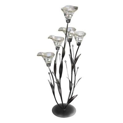 Clear Lily Floor Standing Candle Holder Home Accessories The Range