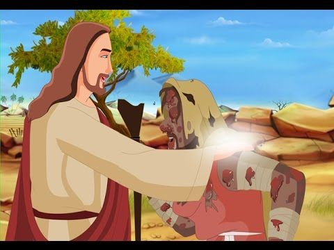 Bible stories for kids - Jesus heals the Leper ( English Cartoon