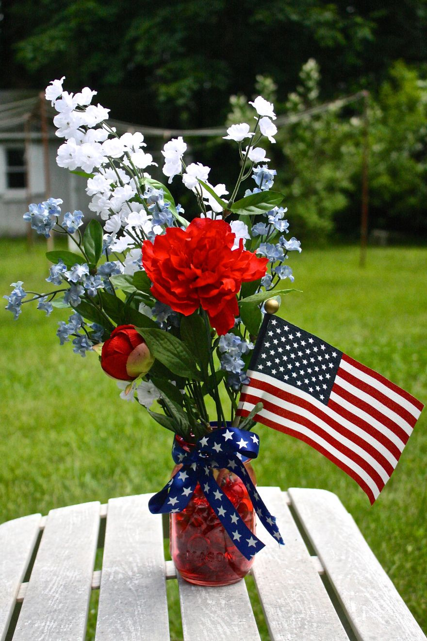 Patriotic centerpieces diy projects to try pinterest centerpieces