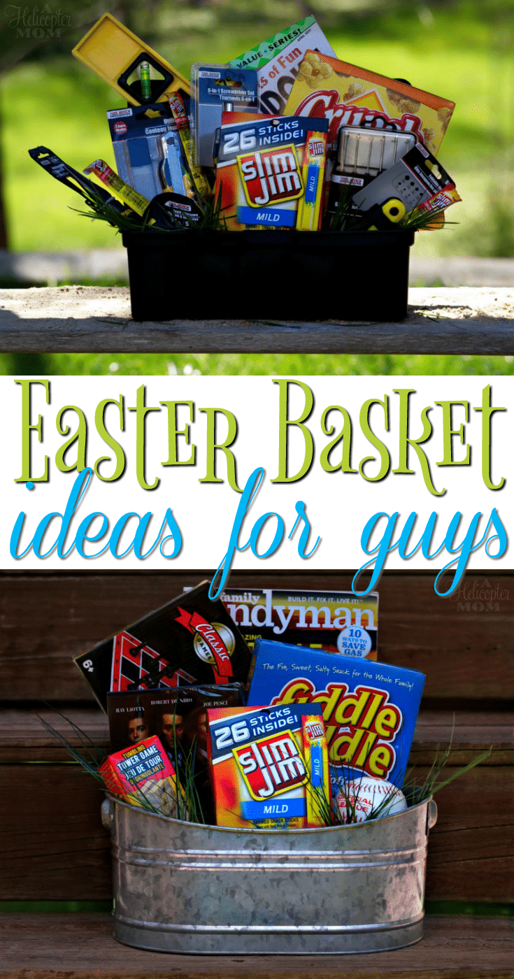 Easter basket ideas for guys basket ideas easter baskets and easter easter basket ideas for guys dont forget your man on easter here negle Choice Image