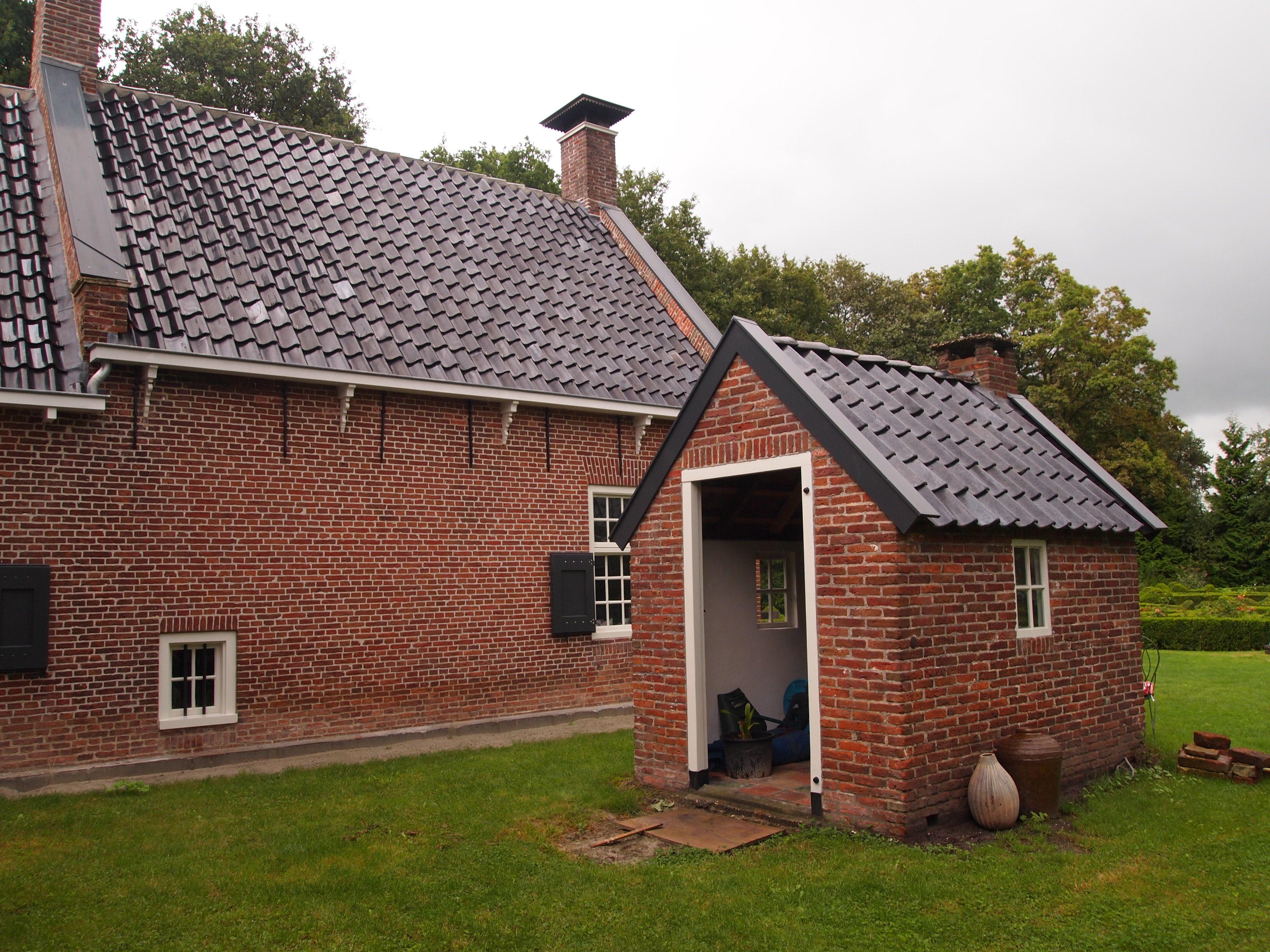 De Oude Boerderij : De stookhut naast de oude boerderij drogeham friesland