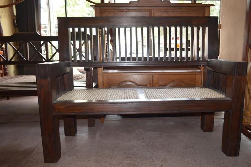 Lobby Bench | Chairs Sri Lanka | Colonial furniture, Furniture