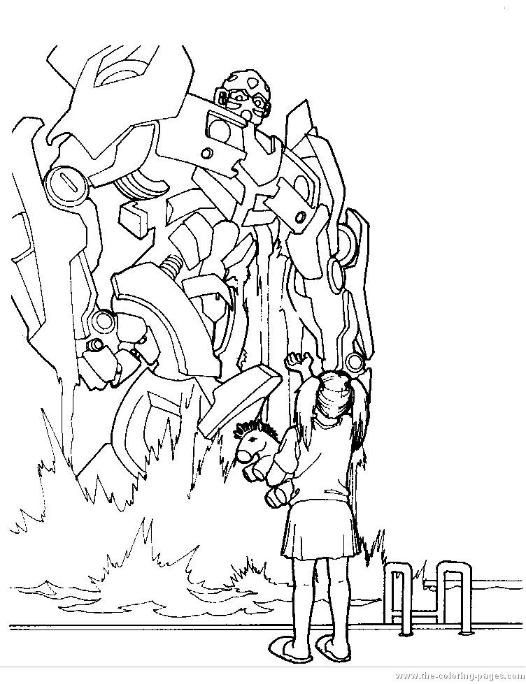 Colouring In Sheets Transformers : Bumblebee transformers coloring pages pinterest