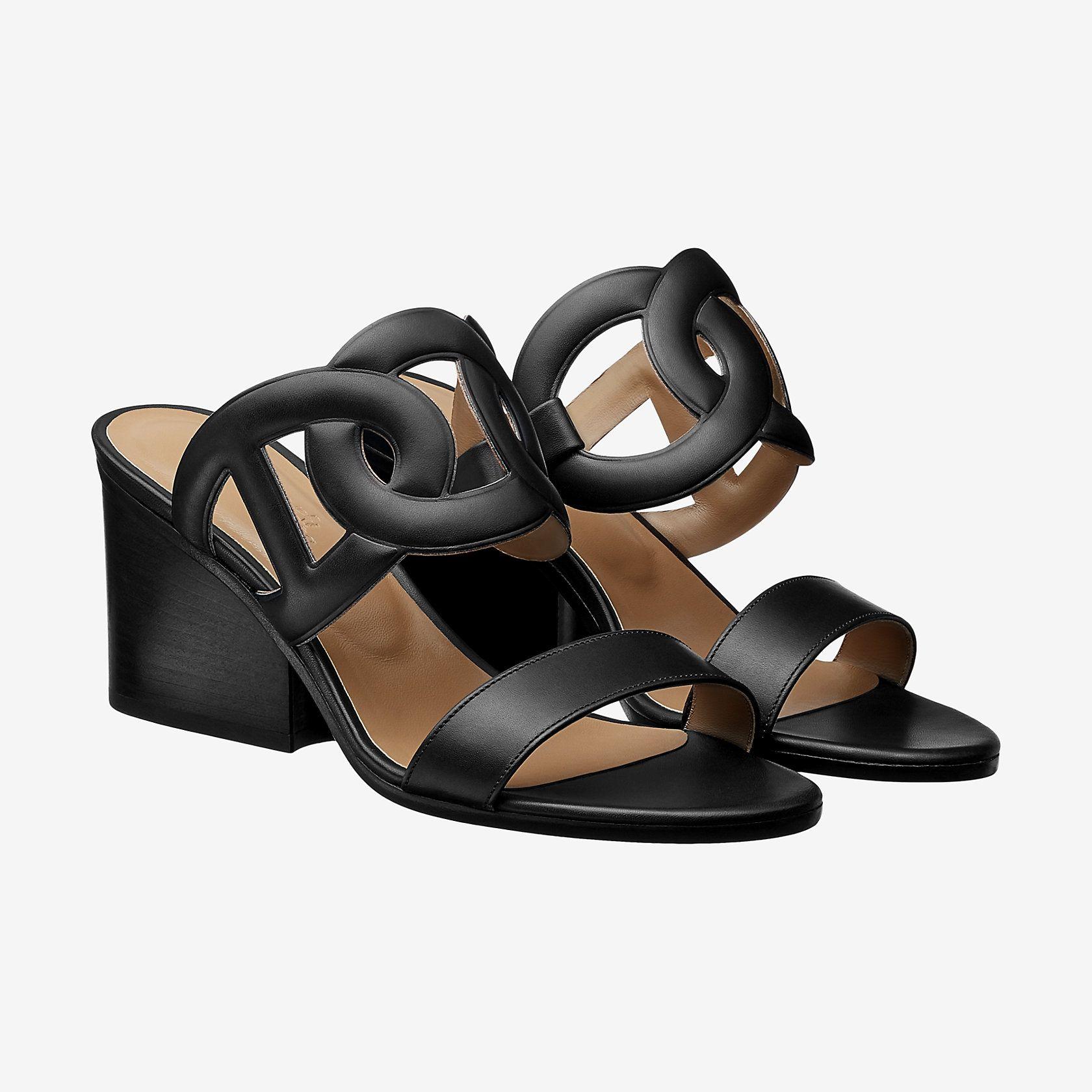 5e7072cc2e88 Hermes sandal in calfskin