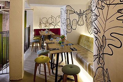 restaurant-design-wall-accents | BARS & RESTAURANTS | Pinterest ...
