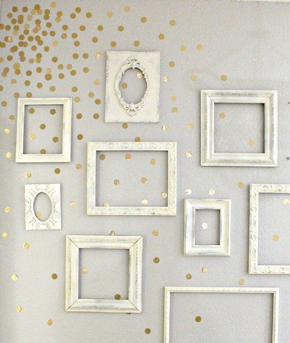 Vinyl Polka Dot Circle Wall Decals Set Of By