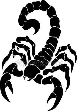 Imagen Relacionada Escorpion Dibujo Tatuaje De Escorpion Pintura Silueta