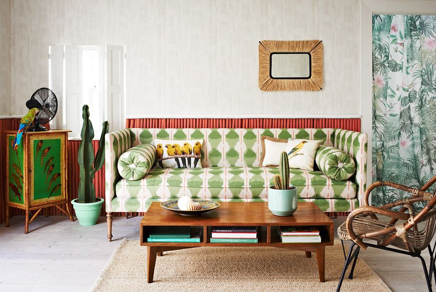tropical interior styled by Olivia Gregory